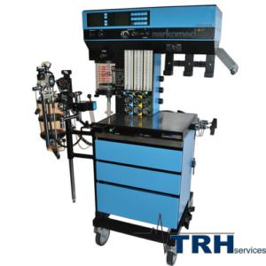 Anesthetic gas machine, refurbished