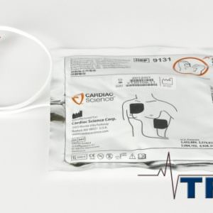Defibrillator - Cardiac Science Powerheart, Electrodes - Adult (REF: 9131)
