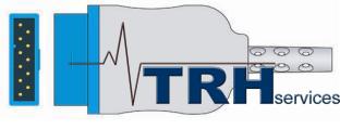 Pulse Oximeter Probe - Marquette: DASH/Eagle/Solar/TRAM x50SL/ TramScope/ Responder 3000 (Nellcor tech.)