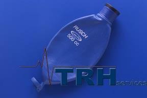 Breathing System - Neoprene Rebreathing Bag - 22mm Bush neck, antistatic. 2.0Litre.