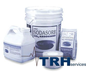 Soda Lime - CO2 Sodasorb. For absorber canister on gas machine 2.8lb