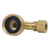 Dental Fitting – Coupler – Garden Hose Female X 3/8″ male MPT; right angle
