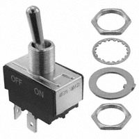Switch – TOGGLE TS OFF-ON DPST; 20A @ 125V