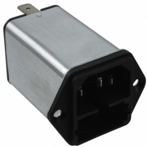 AC Plugs – AC Power entry with dual fuse (For use with Criti-care model 506