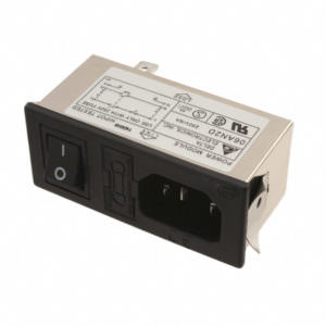 AC Plugs – PWR ENTRY SNAP-IN for XLTEK unit.