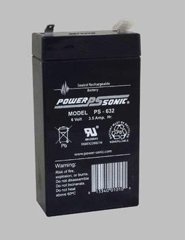 Battery – 06V 3.5AH (F1-06)
