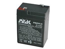 Battery – 06V 4.5AH (F1-01)