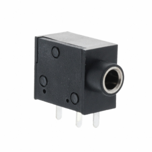 Connectors (Female) – JACK STEREO R/A 3PIN 3.5MM
