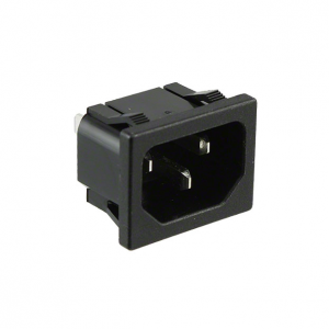 AC Plugs – MODULE POWER AC RECEPT .8MM SNAP/.187